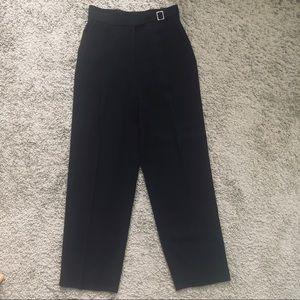 Worth Collection Black Dress Slacks